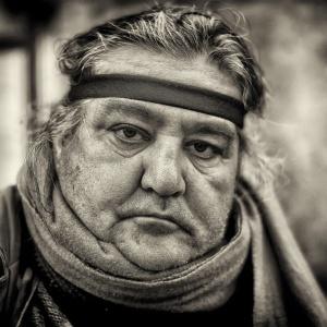Street portraits in Rome