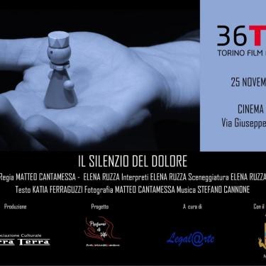 """Domenica 25 Novembre 2018 """"Il Silenzio del Dolore"""" al TFF"""