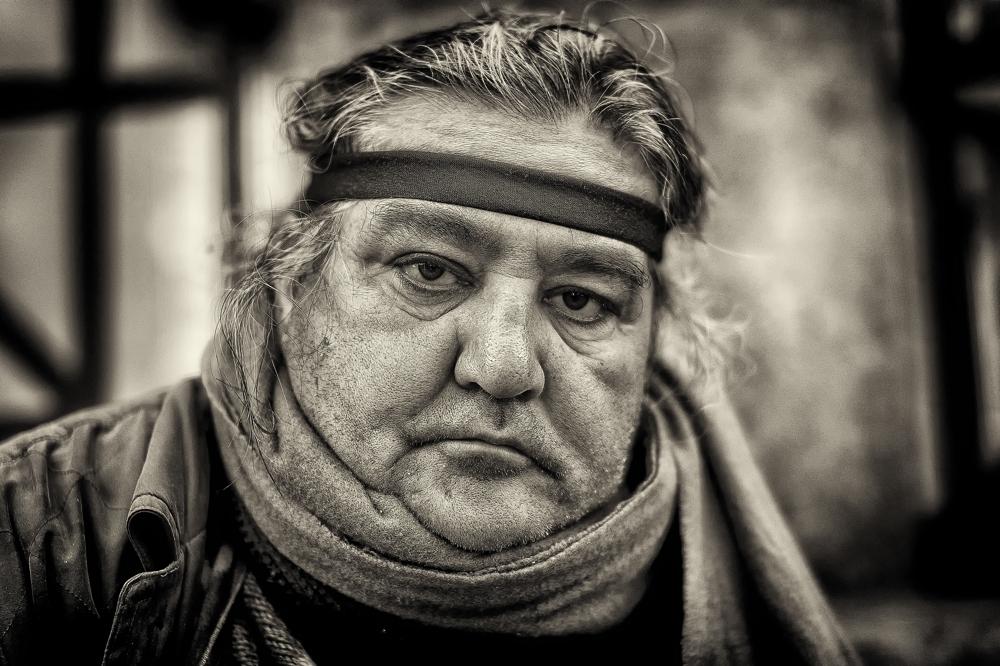 Ciro, street musician, Napoli